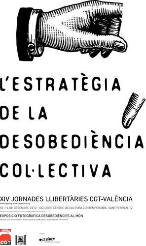 estrategia de la desobediència col.lectiva a valència