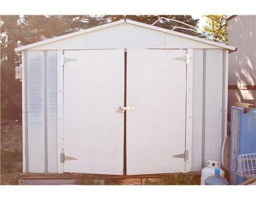 shed in the back