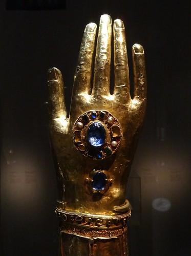 Reliquaire du bras de Saint Blaise