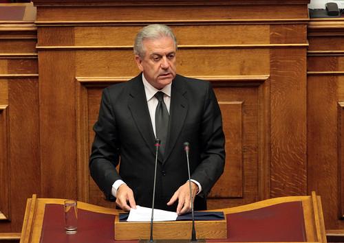 Ομιλία ΥΠΕΞ Δ. Αβραμόπουλου στη Βουλή (09.11.2012)