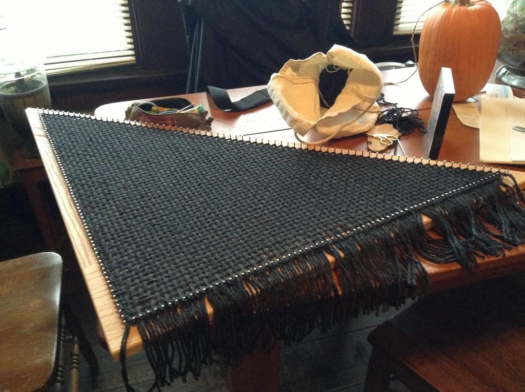 3' triloom shawl