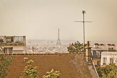 La Torre Eiffel desde Montmartre