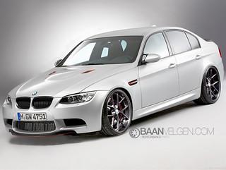 BMW E90 M3 CRT with MORR wheels