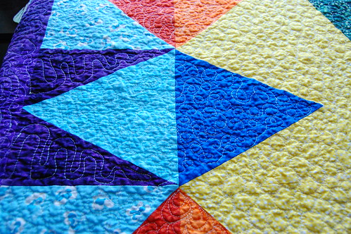 Star Wreath Quilt Detail