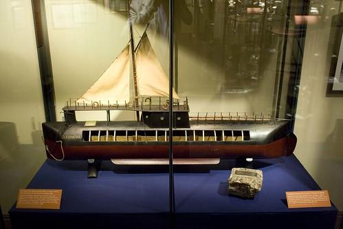 Cleopatra's needle - transport ship