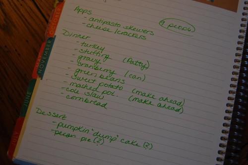 lists...
