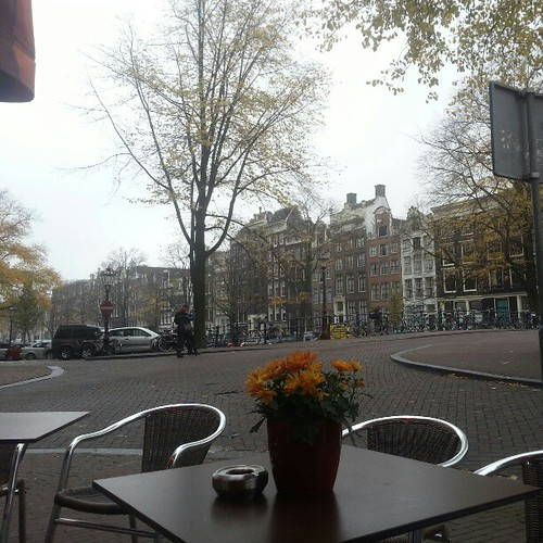 View at lunch #Amsterdam