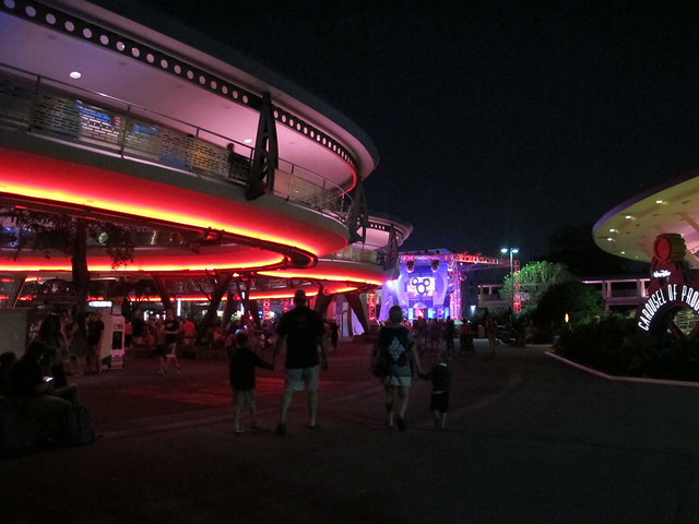 Tomorrowland in Magic Kingdom, Disney
