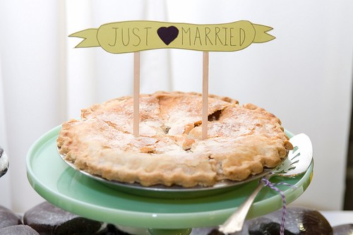 Just Married Pie
