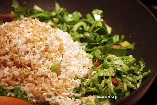 上海菜飯 Shanhai veggi rice 6