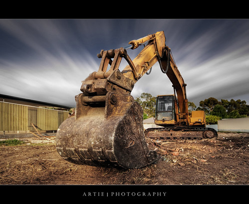 EXtreme Excavation ! :: HDR + Hitech Pro 10-stop ND Filter