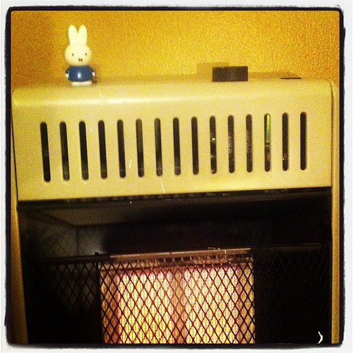 Miffy feels the heat.