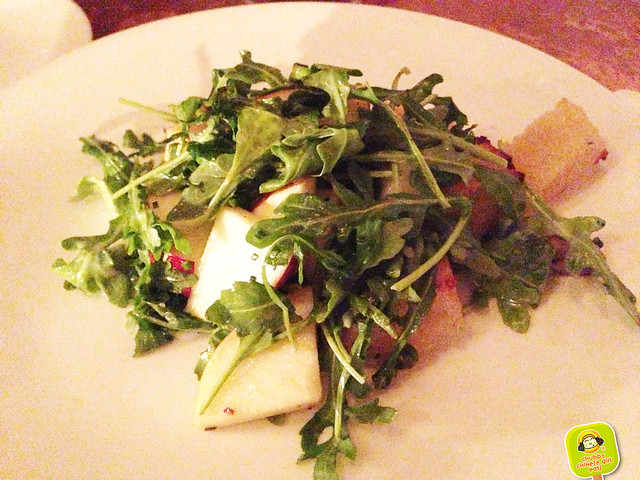 vinegar hill house - pear salad