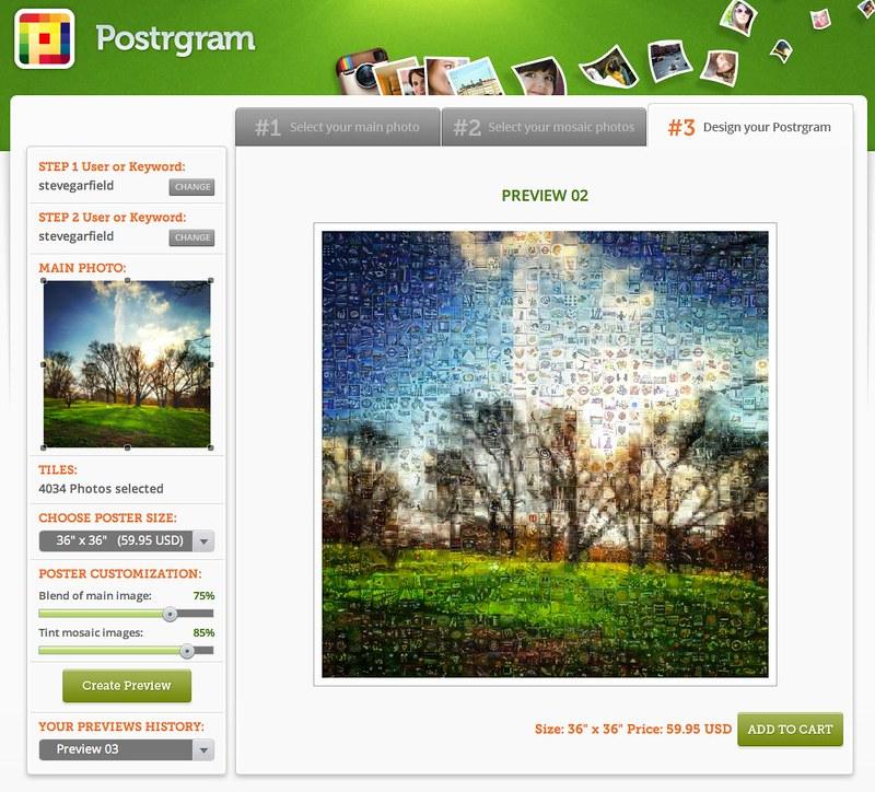 Postrgram Creator 2