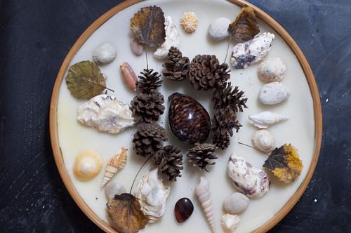 Naturmaterial-Mandala