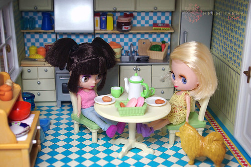 First tea party