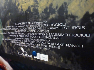 Oltre La Frontiera poster with name credits