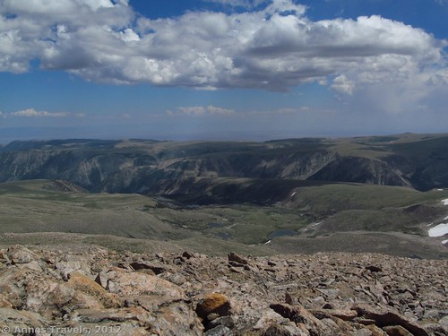 Part of the view from Mount Rearguard, Custer National Forest, Montana