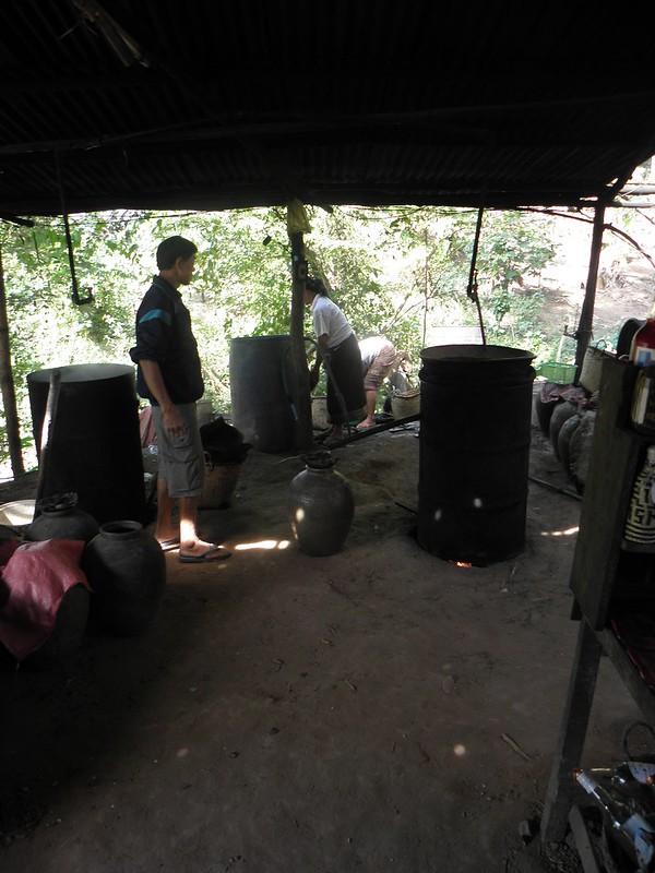 Making Whiskey in Laos