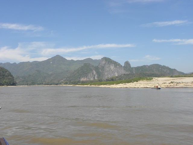The Mekong in Northern Laos