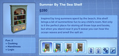 Summer by the Sea Shelf