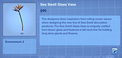 Sea Swell Glass Vase