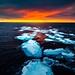 Sunset Ice by Polisan