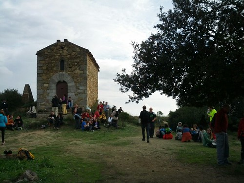 Meitat de la caminada: ermita de Sant Onofre #cebadalona