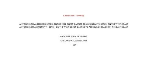 Richard Long, Crossing Stones