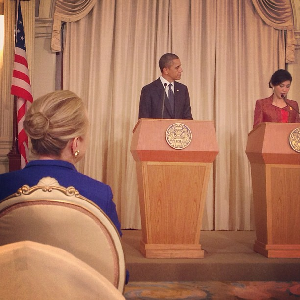 President Obama and Thai Prime Minister Shinawatra Hold a Joint Press