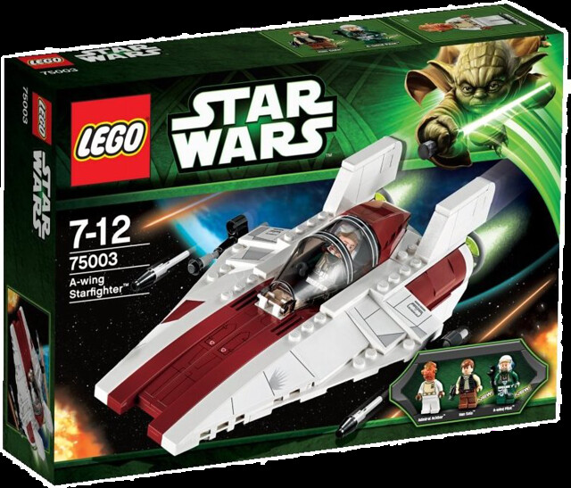 LEGO Star Wars 75003 – A-wing Starfighter - Box