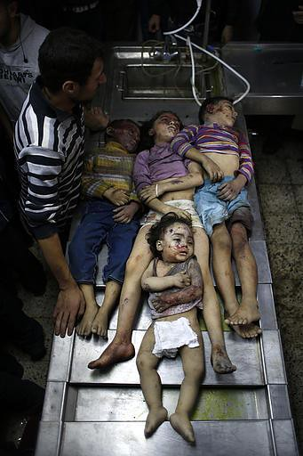 Four Palestinian siblings killed by IDF 11/18/2012