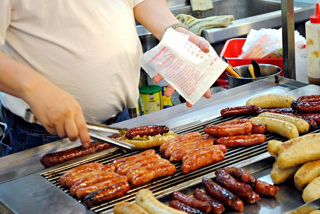 Sausage in sausage