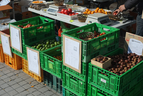 Seoul farmers' market
