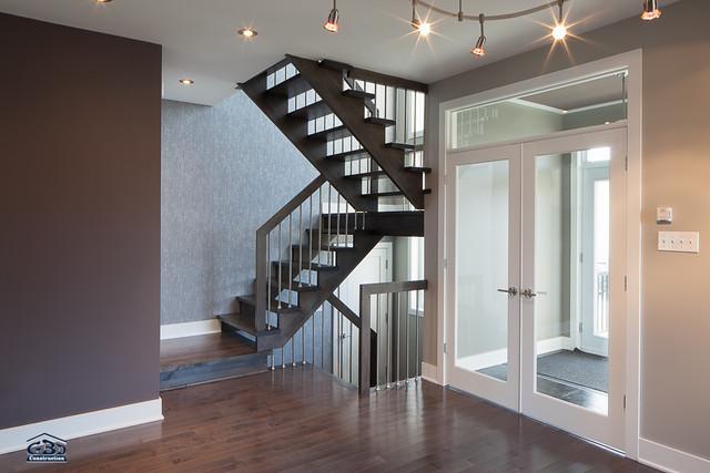 Int rieur du mod le l 39 habitat maison neuve tages - Modele interieur maison ...