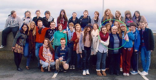 Luca Henry SSL (front row 5th from right) with the Search Leaders of the St Louis House Belfast. Search is a peer ministry programme which helps young people to understand their faith in Today's world