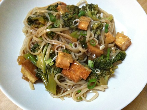 Crispy Tofu and Broccoli