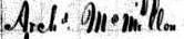 Archibald McMillan 1830 Maury Co, TN