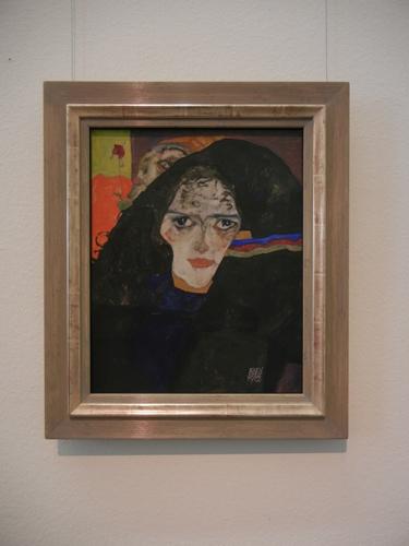 DSCN0903 _ Trauernde Frau, 1912, Egon Schiele, Leopold Museum