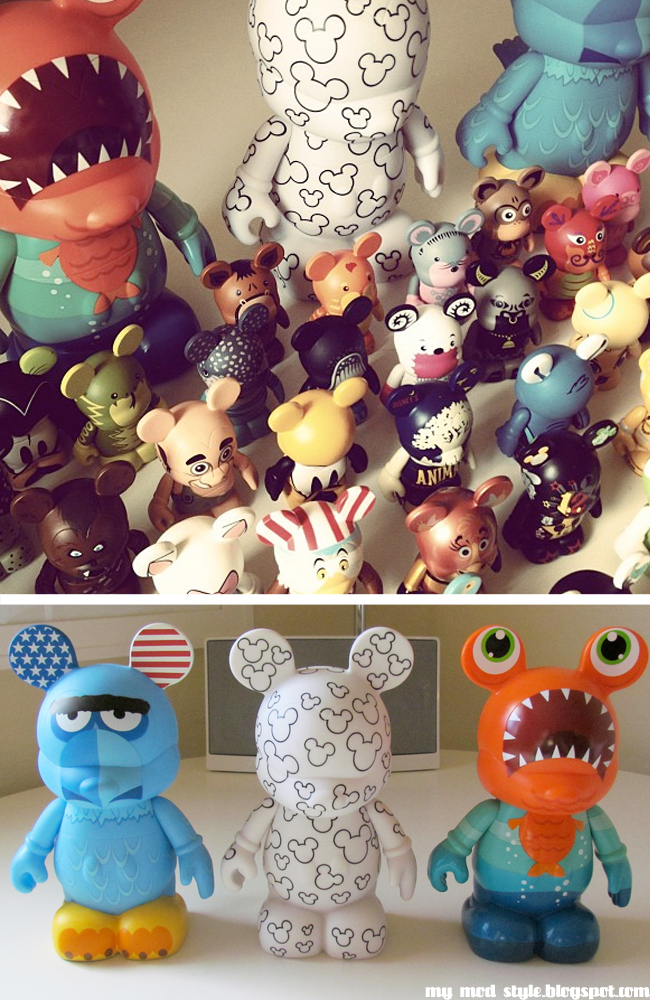 Vinylmation collection and large