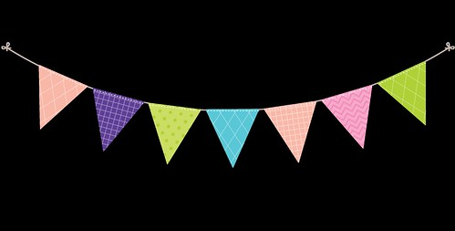 Bunting---Dots-and-Stripes---Rainbow---6