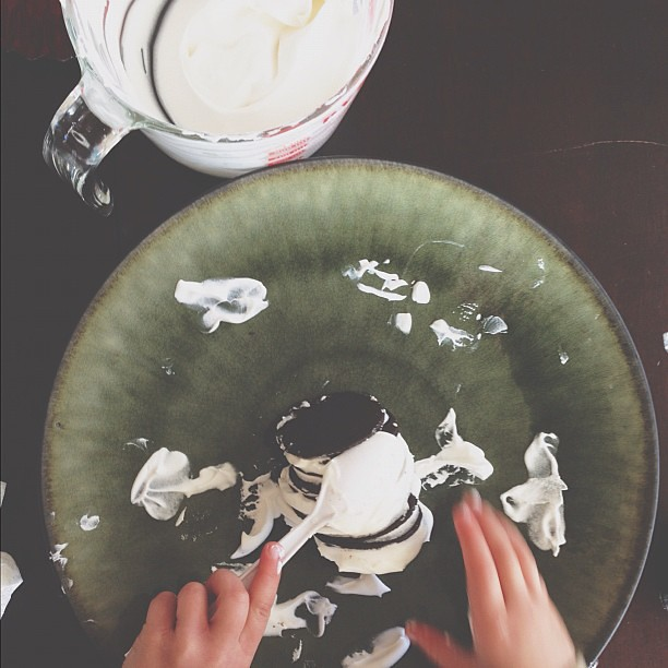 Dessert making! #thanksgiving #momentswitho