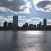 Boston viewed from Longfellow Bridge by Ivan Herman