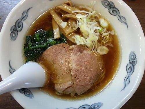 ra121123瀧井 中華そば 黒焼き飯(小)