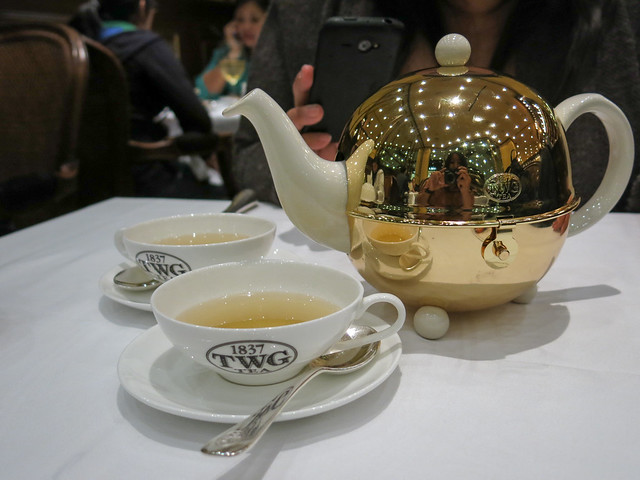 Silver moon tea at TWG