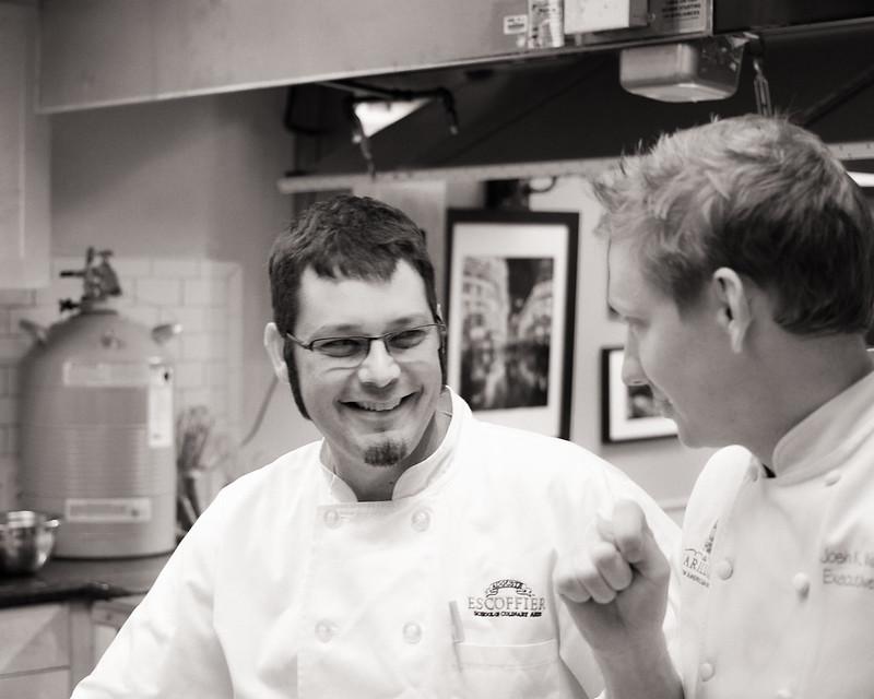 Chefs Josh and Paul