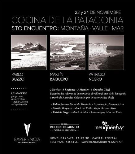 Cocina de la Patagonia en Experiencia del Fin del Mundo