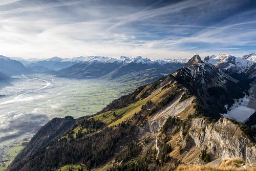 sky mountain snow mountains alps berg clouds landscape schweiz switzerland nikon day suisse snowy himmel wolken berge valley alpen rheintal rhine landschaft kasten appenzell alpstein photomix buchs hoher sämtisersee stauberenkanzel d800e bestevergoldenartists