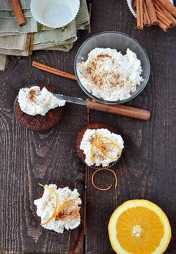 апельсиновые капкейки.3