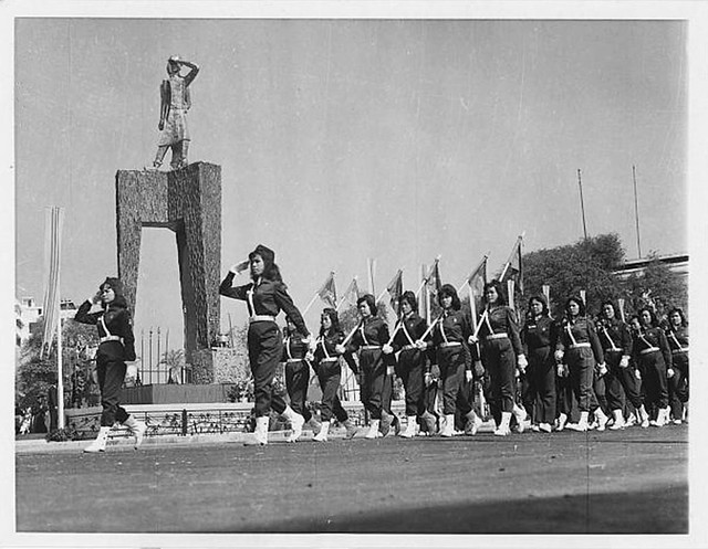 Uniformed Women, Republican Youth, Trung Sisters, Saigon